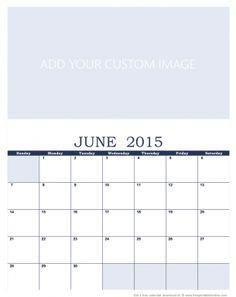 Custom Calendar Template | 114 Best Printable Calendars Images Printable Monthly Calendar
