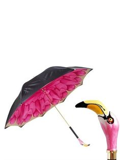 Pin for Later: Make This Year Your Mum's Chicest Yet Pasotti Resin Flamingo Printed Umbrella Pasotti Resin Flamingo Printed Umbrella (£258)