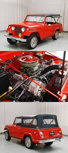 1967 Willys Jeepster Maintenance of old vehicles: the material for new cogs/casters/gears/pads could be cast polyamide which I (Cast polyamide) can produce