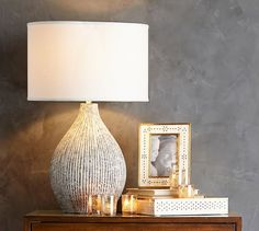 Lima Ceramic Lamp Base | Pottery Barn