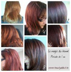 avis sur le henn colorant et mon exprience - Henn Coloration Cheveux