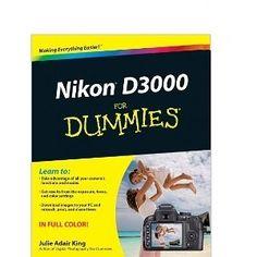 Nikon D3000 For Dummies [Paperback] Julie Adair King