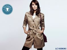 Sonbaharın vazgeçilmezi trençkotlar mağazalarımızdaki yerini aldı bile. Giymek için sabırsızlanıyorsanız yeni modellerimiz www.lcwaikiki.com'da!