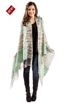 the mint coveted cardigan from the RUSTIC mule