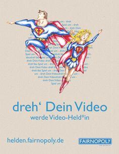 Werde ab jetzt Video-Held*in und schon bald könnte Dein Fairnopoly-Video überall zu sehen sein