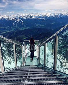 Treppe ins Nichts, Dachstein Glacier, Austria #austria #europe