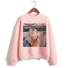 Frock Fashion, Kpop Fashion Outfits, Girls Fashion Clothes, Outfits For Teens, Trendy Outfits, Cute Outfits, Billie Eilish Merch, Stylish Hoodies, Korean Girl Fashion