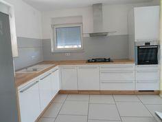 #dankuchen witte keuken met houtaccenten #scandinavisch design #oostenrijkse kwaliteit
