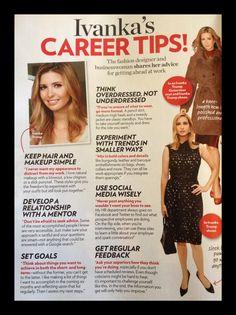 Career advice from ivanka
