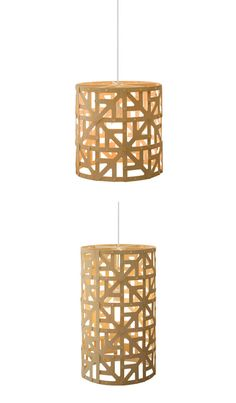 David Trubridge Ulu Pendant Lamp