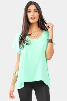 Back To Basic Top: love mint!