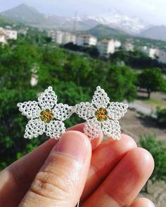 Crochet Earrings, Embroidery, Floral, Flowers, Crafts, Jewelry, Board, Herbs, Viking Knit