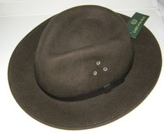 Suede Leather Floppy Pioneer Hat 28