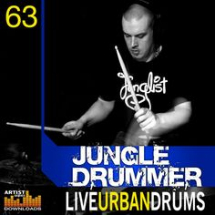 Jungle Drummer - Live Urban Drums from Loopmasters