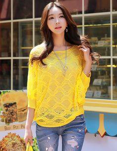 Cozy Knitwear from Styleonme.  Korean Fashion, Women Fashion, Feminine Look, Classy Look, Office Look, Lovely, Romantic, High Quality, Gorgeous Look, S/S 2015, Style On Me, Louis Angel, Winter Styling  en.styleonme.com www.facebook.com/StyleonmeEn