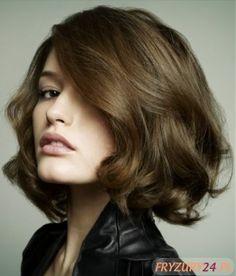 Modna fryzura klasyczna - Modne fryzury