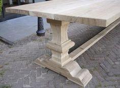 Refectory table - Rustic oak