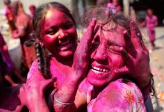 Holi: Festival of Colors Every year, Hindus greet the turn of winter into spring with a splash of color -- in some areas, a geyser of color....