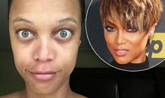 Tyra Banks bares her early morning face without make-up on Instagram