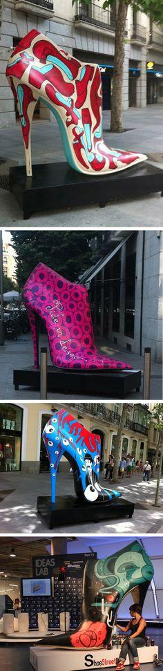 sapatos3#street art -Madrid
