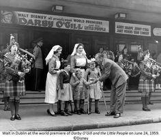 Walt Disney in Dublin.