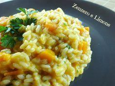 Il risotto zucca e scamorza è semplice e molto appetitoso. Il sapore delicato della zucca si combina magnificamente con quello della scamorza affumicata.