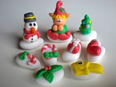 Confetti decorati natalizi