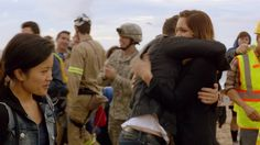 Is it just me or Paige watching Happy to make sure she's ok with Toby hugging her??!!!!