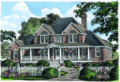 #countryhomeplan #farmhouse #planoftheweek