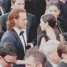 sam and caitriona 2016 golden globes red carpet-#King and his Queen
