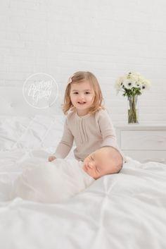 Newborn Photography   Big Sister & Baby Brother   Child Photographer