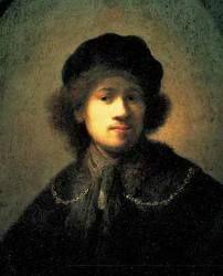 "KDS Photo, Walker Art Gallery, Liverpool, oil painting by Rembrandt van Rijn, ""Self-portrait as a Young Man"" Rembrandt Self Portrait, Rembrandt Paintings, Rembrandt Drawings, Art Paintings, Liverpool Museum, Liverpool Uk, Art Occidental, Web Gallery Of Art, Google Art Project"