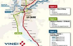 VINCI and Bouygues Construction hand over the new Cairo metro line.