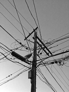 Evil Vince Photography » Chicago, Illinois • Power Lines • March 12, 2005