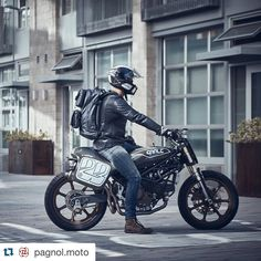 MOBILE REBELS - Super excited to share new images from our Moto partner @pagnol.moto Our #BlackEmber Neoruk Pack looking great with @pagnol.moto M2 Jacket by emberequipment