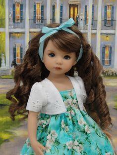 "White+Gardenia+-+dress,+jacket,+shoes+for+Dianna+Effner+Little+Darling+Dolls+13""+#DarlingLilBee"