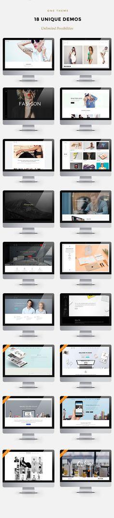 Oshine - Creative Multi-Purpose HTML Template • Download theme ➝…