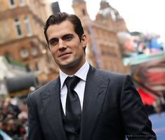Master of the Universe(a.k.a. Henry Cavill at the Man of Steel premiere in London on June 12)