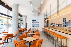 São Paulo's 1950s eateries influence deli at Institute of Architects of Brazil