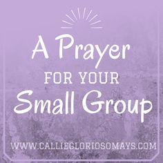 Peo Prayer Ideas