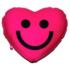 Mr. Happy Heart Convertible Pillow