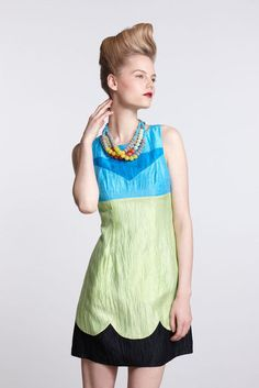 Colorblock Shift Dress - Made in Kind by Tracy Reese