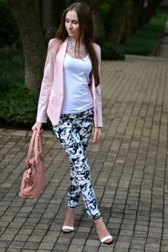 Dusty Petals: Introducing Floral Pants Into My Wardrobe | Outfits ...