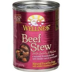 WELLNESS DOG FOOD STW BEEF CRRT PTO CAN, 12.5 OZ, PK- 1 *** Click image to review more details. (This is an affiliate link and I receive a commission for the sales)