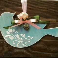 Jewelry box, home decor, personalized gifts by PrettyThingsZn - Kostüm Ideen Bird Crafts, Dyi Crafts, Wooden Crafts, Easter Crafts, Arts And Crafts, Christmas Crafts, Christmas Decorations, Christmas Ornaments, Handmade Home