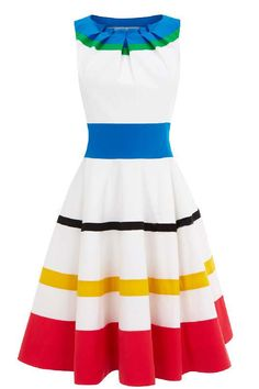 I would like to skip through the streets with balloon in hand in this dress someday