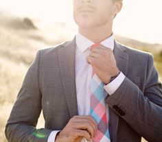 Love the tie.
