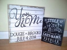 Personalized wedding gifts. Go to www.mysimplysaiddesigns.com/2152 to get yours!