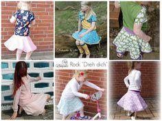 Freebook Dreh dich  - Rock für Kinder 80-128
