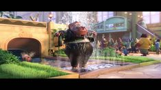 """""""Arriving"""" Clip - Zootopia in Theatres in 3D March 4! Disney Wiki, Disney Films, Trail Mix Kids, Zootopia Coloring Pages, Zootopia Movie, Animal Snacks, Activity Sheets For Kids, Free Activities For Kids, Easy Animals"""